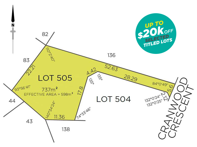 Lot 505, 28A Cranwood Crescent, Viveash