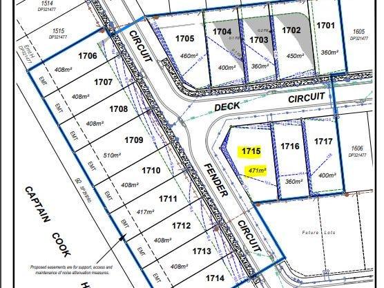 Lot 1715  Deck Circuit- Bluewater Estate, Trinity Beach