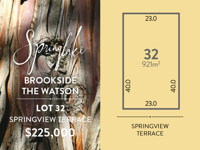 Lot 32, Springview Terrace, Mount Barker