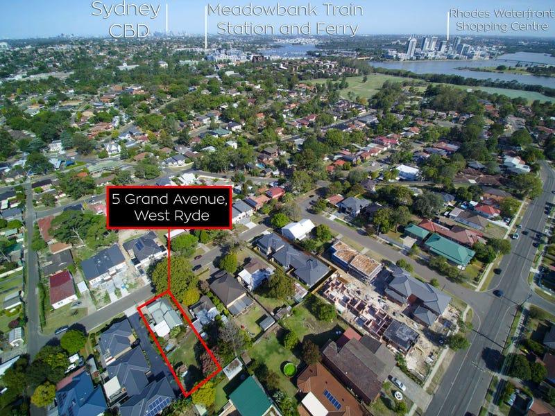 5 Grand Avenue, West Ryde