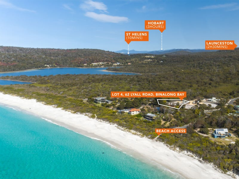Lot 4, 62 Lyall Road, Binalong Bay