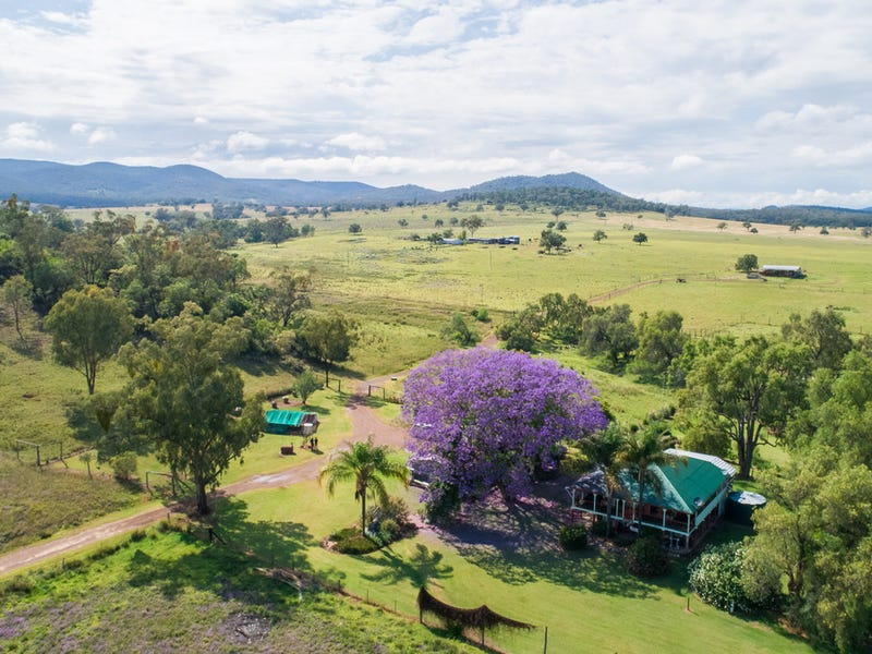 """Wilga Vale"" Glovers Tea Tree Creek Road, Silver Spur, Qld 4385"