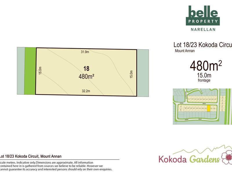 Lot 18, Kokoda Circuit, Mount Annan