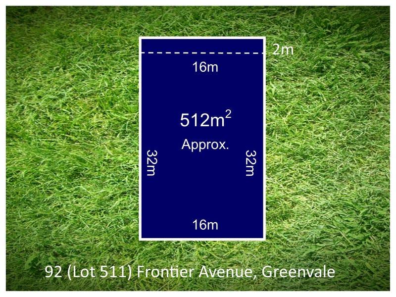 Lot 511, 92 Frontier Avenue, Greenvale
