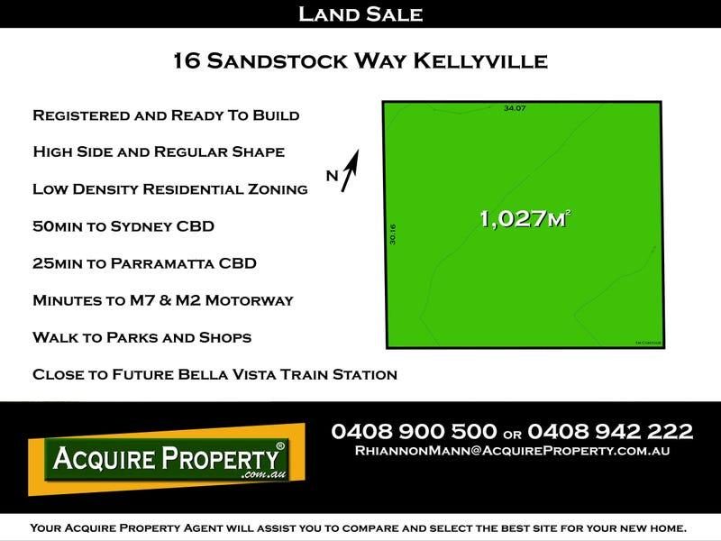 16 Sandstock Way, Kellyville