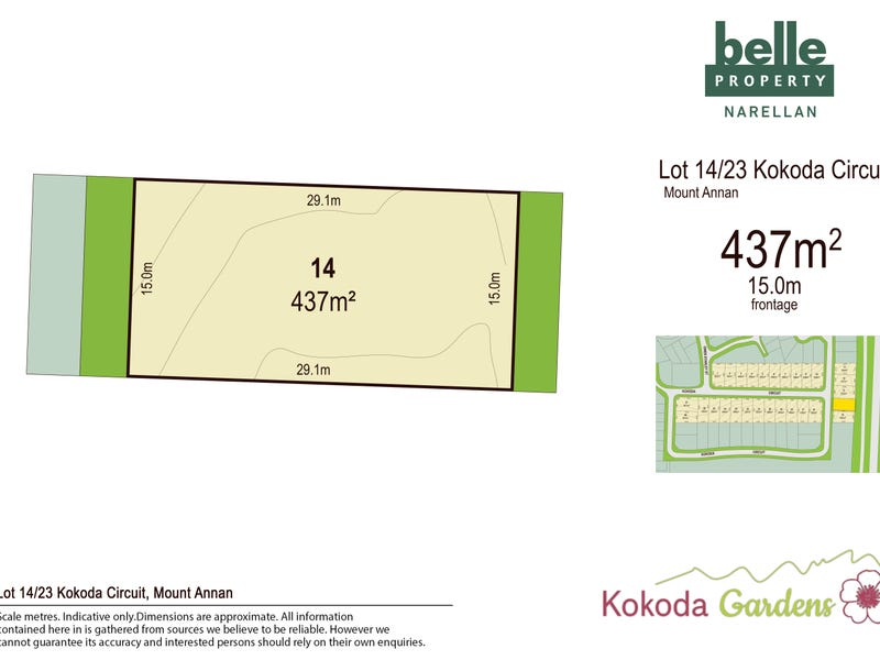 Lot 14, Kokoda Circuit, Mount Annan