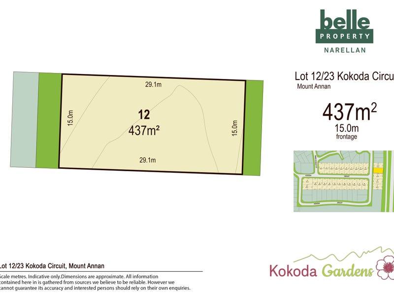 Lot 12, Kokoda Circuit, Mount Annan