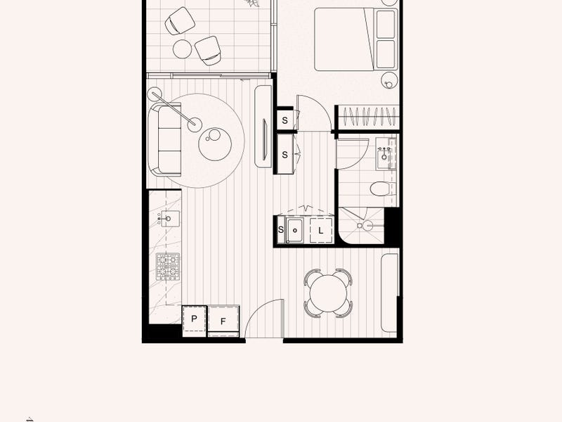 Apartment on Level 3 Address Available on Request, West Melbourne