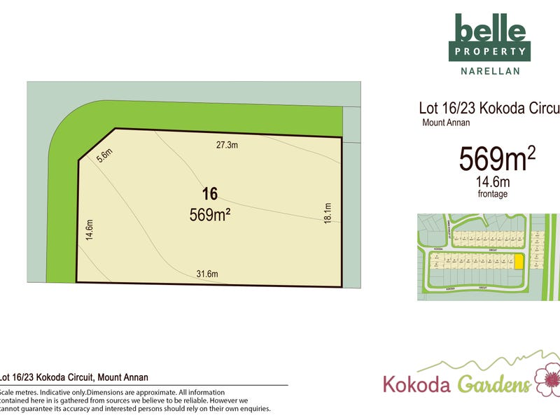 Lot 16, Kokoda Circuit, Mount Annan