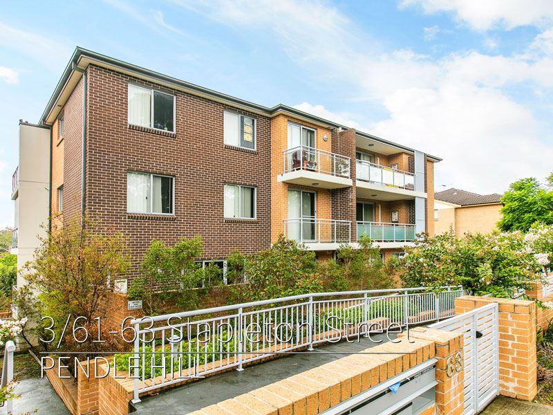 3 61 63 stapleton street pendle hill nsw 2145 unit for. Black Bedroom Furniture Sets. Home Design Ideas