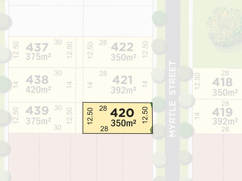 Lot 420, Myrtle Street, Greenvale