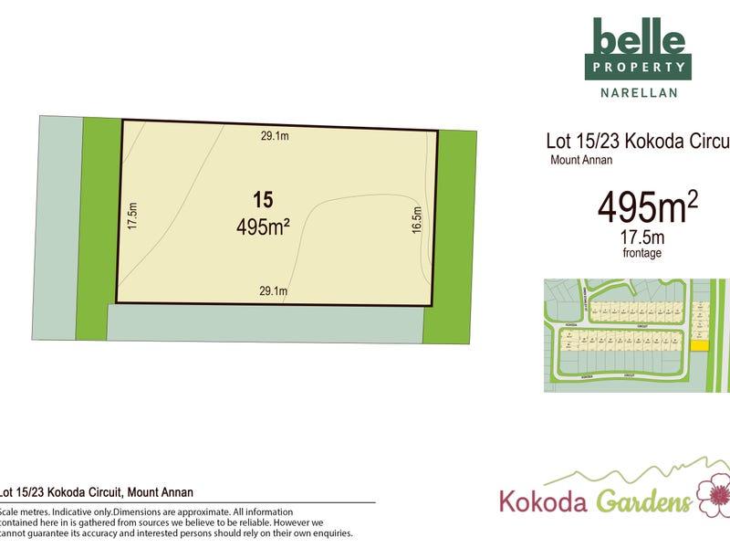 Lot 15, Kokoda Circuit, Mount Annan