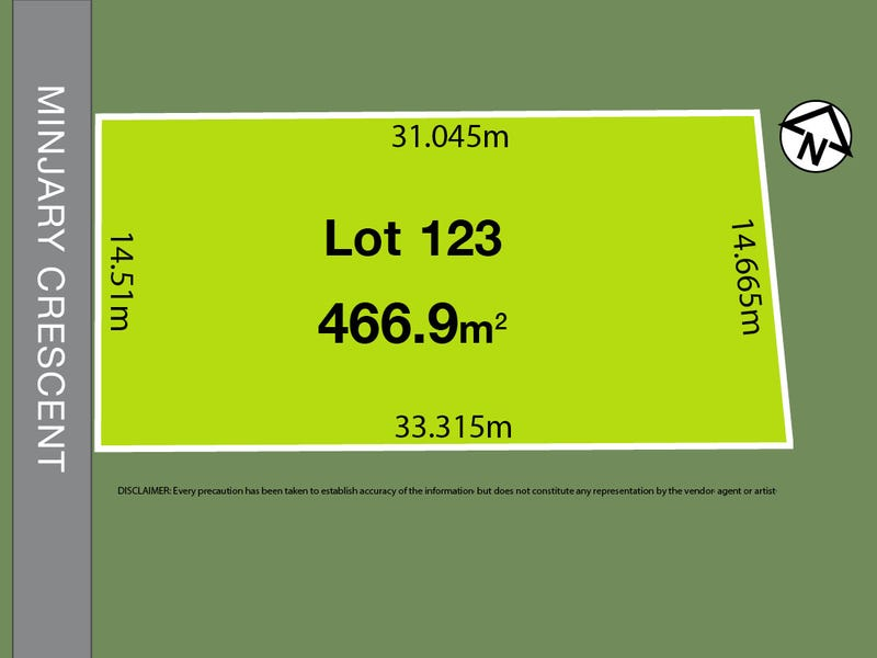 Lot 123, Minjary Crescent, Kellyville