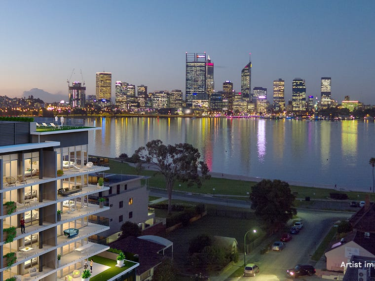 404 5 harper terrace south perth wa 6151 apartment for for 55a swanview terrace south perth
