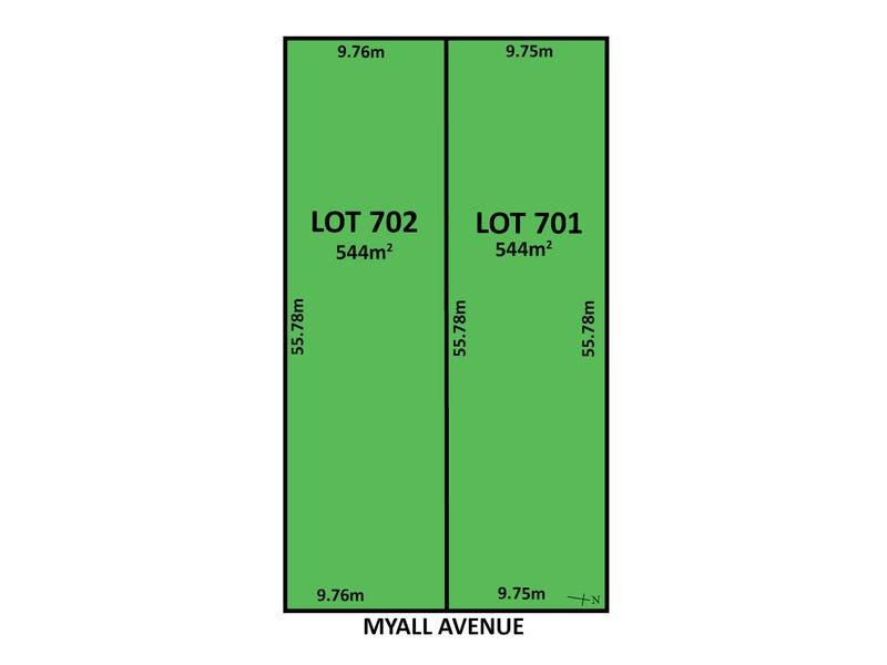 Lot 701 & 702, 59 Myall Avenue, Erindale