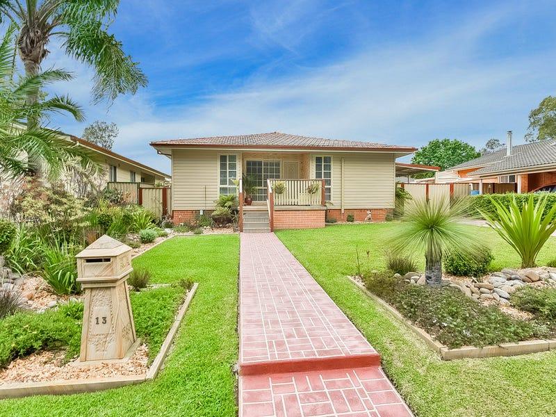 13 Harold Street Macquarie Fields Nsw 2564 House For