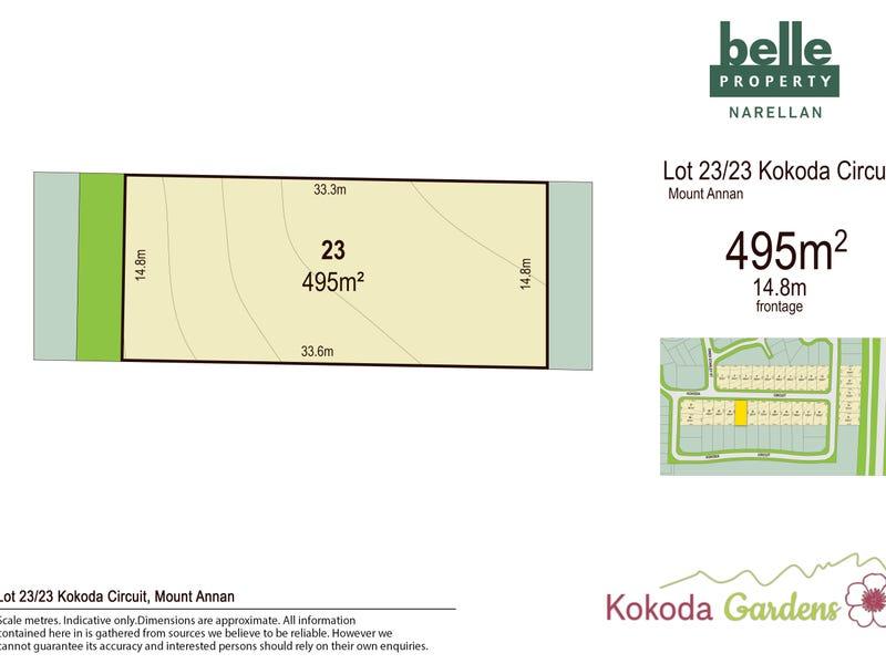 Lot 23, Kokoda Circuit, Mount Annan