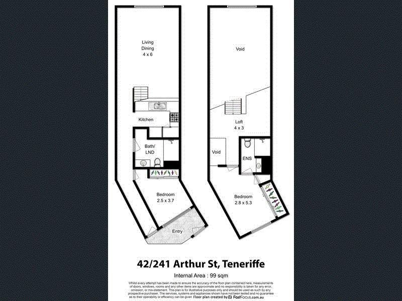 42/241 Arthur Street, Teneriffe