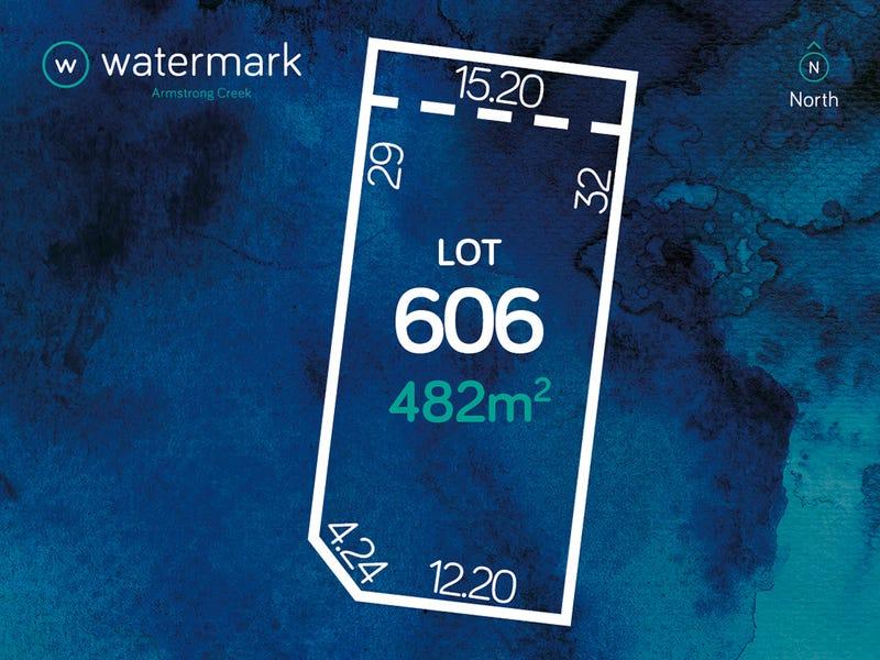 Lot 606, Watermark Estate, Armstrong Creek