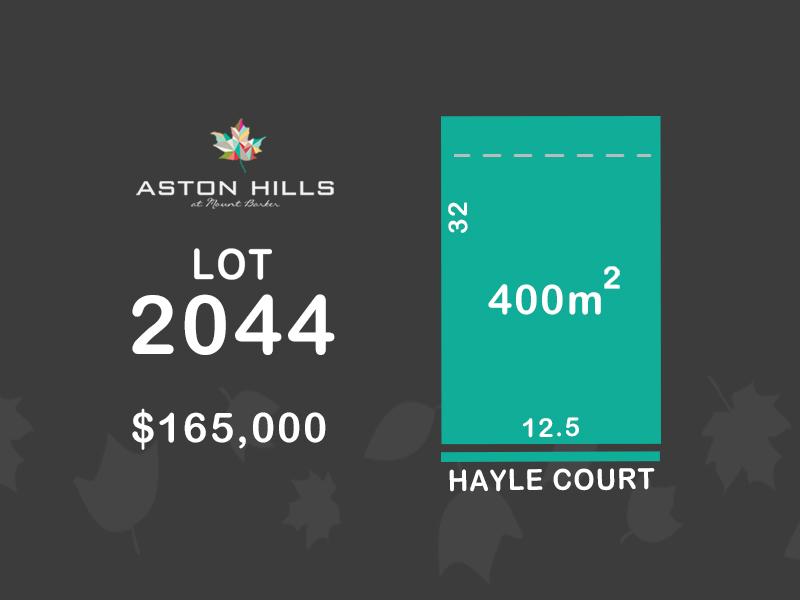 Lot 2044, Hayle Court, Mount Barker, SA 5251