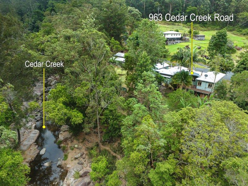 963 Cedar Creek Road, Cedar Creek, Qld 4520