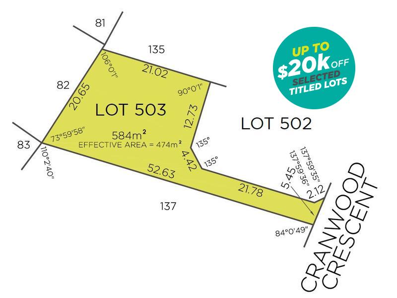 Lot 503, 30 Cranwood Crescent, Viveash