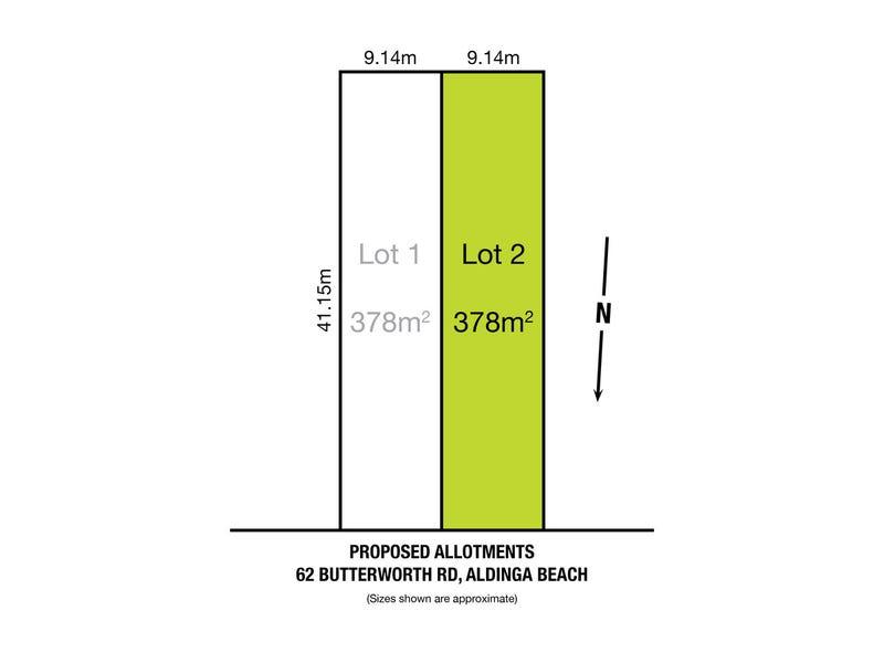 Proposed Lot 2, 62 Butterworth Road, Aldinga Beach, SA 5173