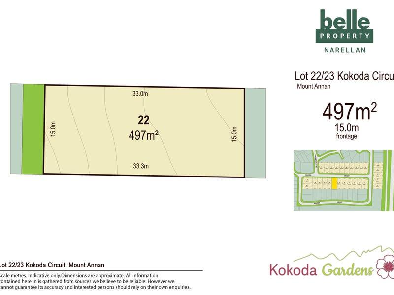 Lot 22, Kokoda Circuit, Mount Annan