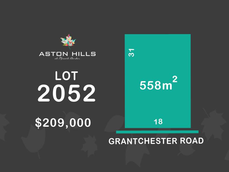 Lot 2052, Grantchester Avenue (Aston Hills), Mount Barker