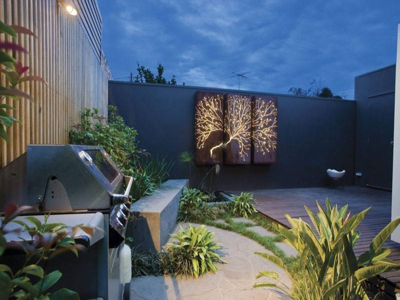 Outdoor living design with bbq area from a real Australian ... on Ab And Outdoor Living id=39551
