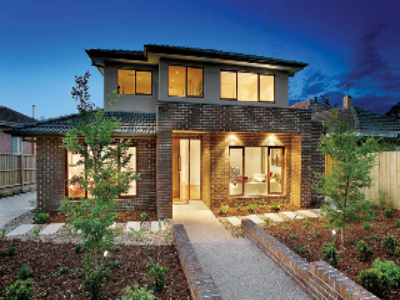 Photo of a brick house exterior from real Australian home ...