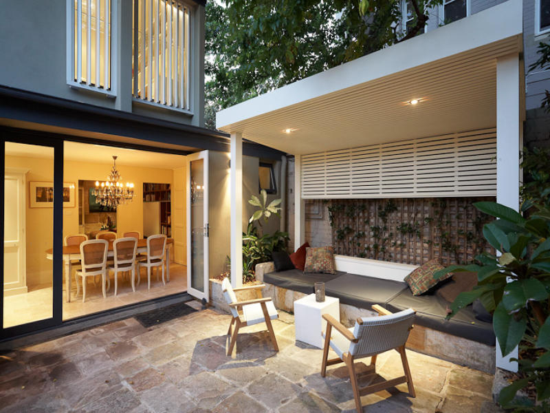 Outdoor living design with gazebo from a real Australian ... on Aust Outdoor Living id=17989