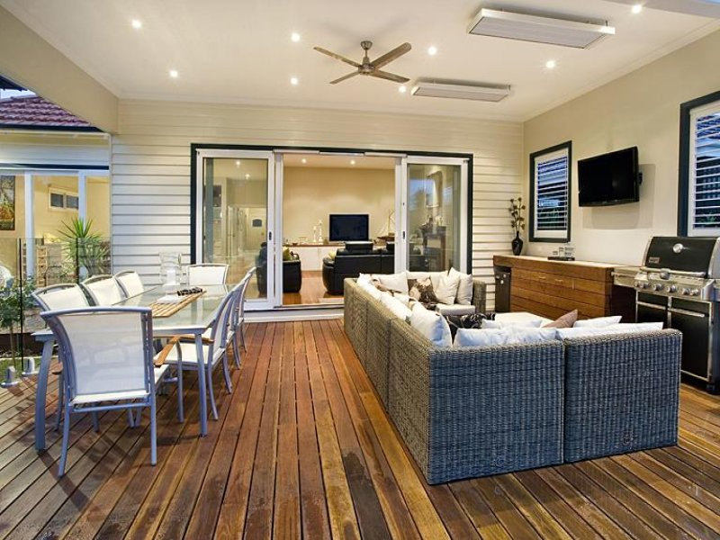 Outdoor living design with bbq area from a real Australian ... on Ab Outdoor Living id=90340