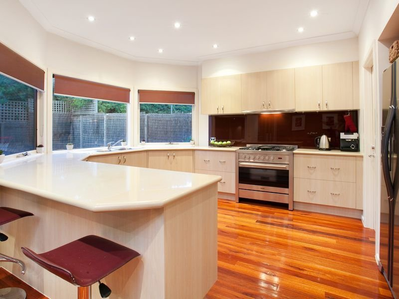 small kitchen designs australia floorboards in a kitchen design from an australian home 5450